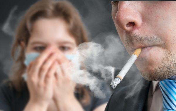 Пассивное курение?  Очень вредно!