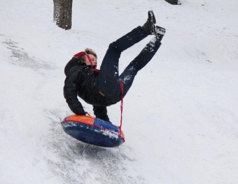 ТЮБИНГ: зима прекрасна, когда  безопасна!