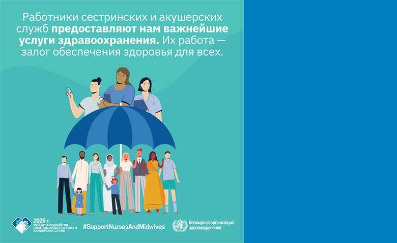 Всемирный день здоровья – в поддержку медицинских сестер и акушерок