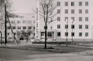 Modern hospital. 1986. city of Kamenets